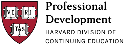 Professional Development | Harvard DCE Logo